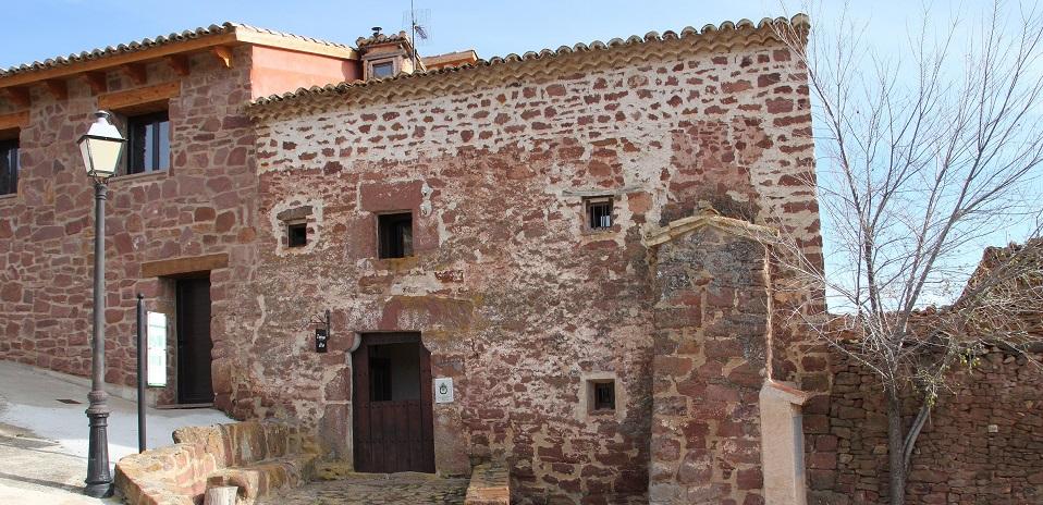 fachada casa rural Espigas altas