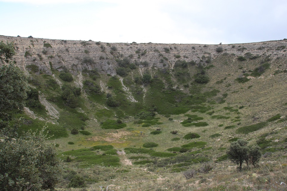 Dolina parameras sierra de Albarracín