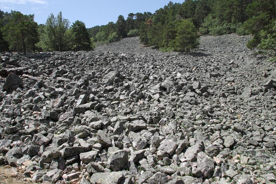 Ríos de piedra (Orihuela del Tremedal)