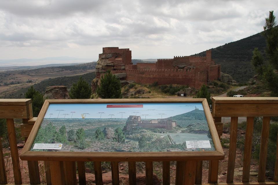 mirador adaptado castillo Peracense