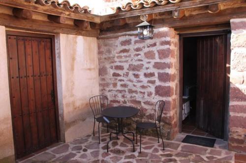 Espacios comunes Casa rural Espigas altas Sierra de Albarracín