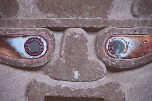 Escultura del Peruano